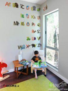 زیباترین طرحهای برچسب دیواری اتاق کودک - استیکر