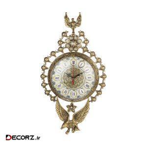 ساعت دیواری طرح عقاب کد۰۲۲